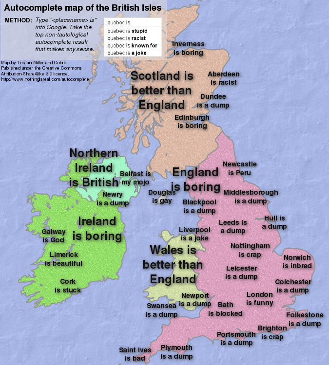 Map Of England Joke.Autocomplete Maps Tristan Miller